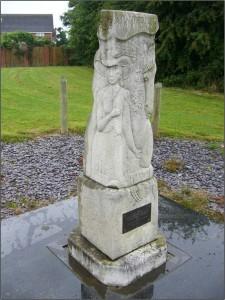 Monument to Celia Fiennes on No Man's heath, Cheshire