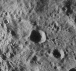 Somerville crater on the Moon